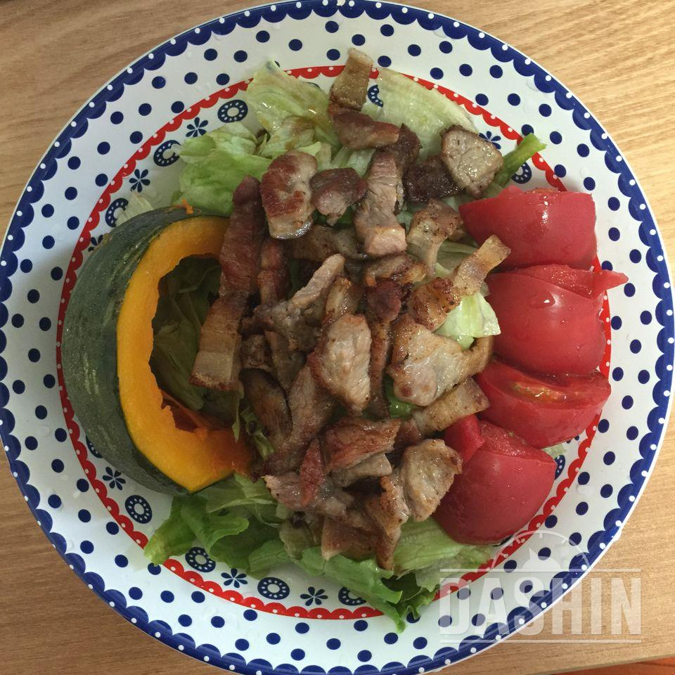 자주 해먹는 샐러드 루틴 입니당 :)