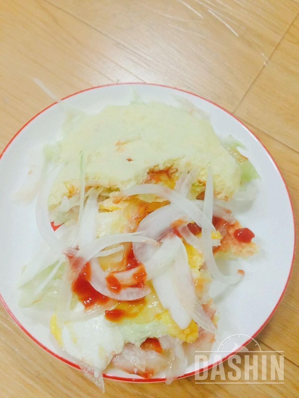 NO밀가루,NO버터 감자빵 샌드위치