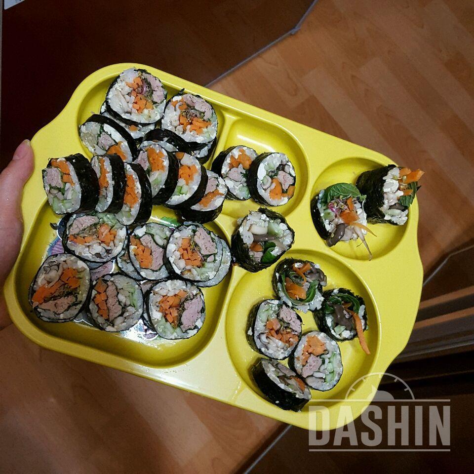 다이어트김밥 1줄 180칼로리