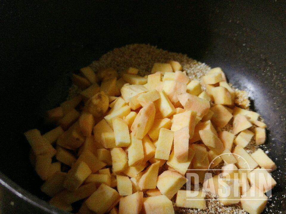 고구마오트밀죽 (오트밀 입문)