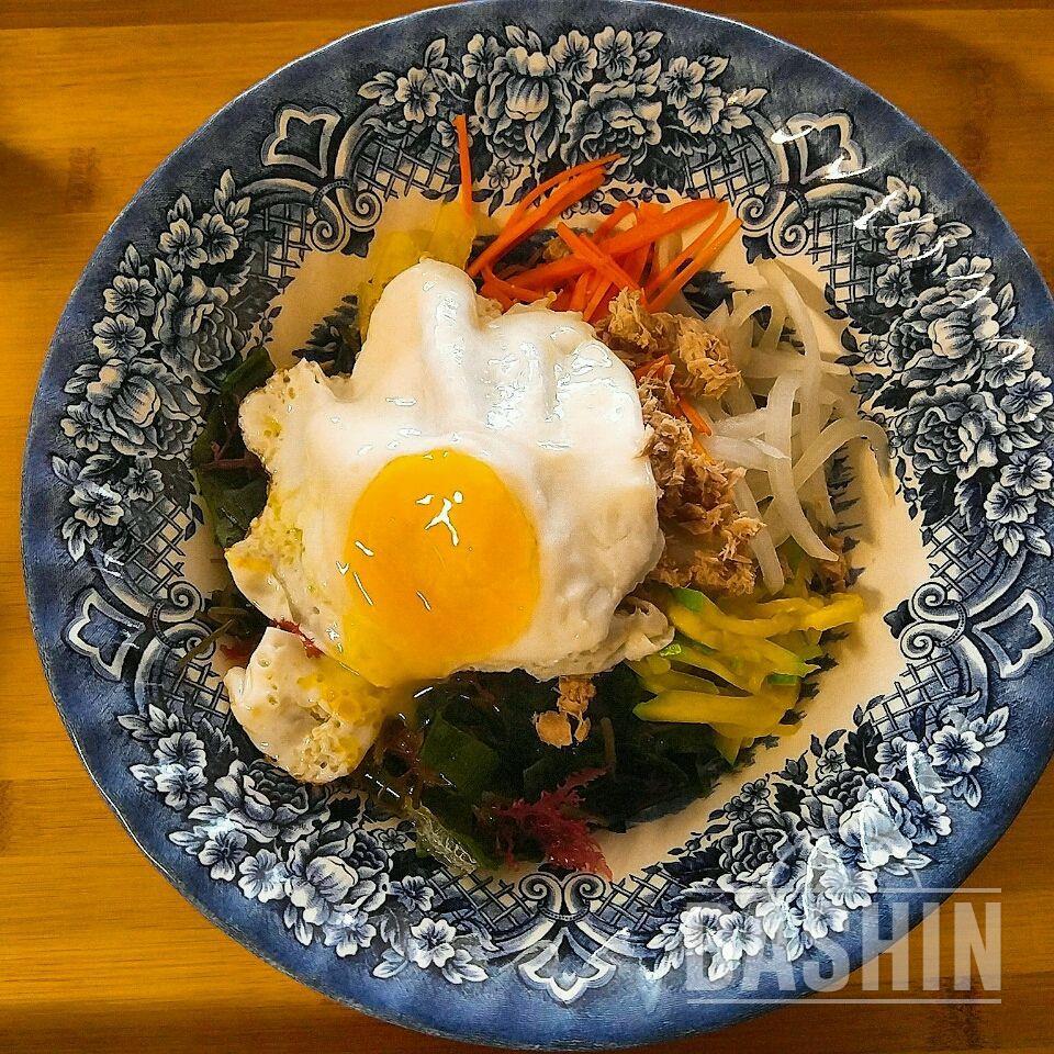 참치해초비빔밥