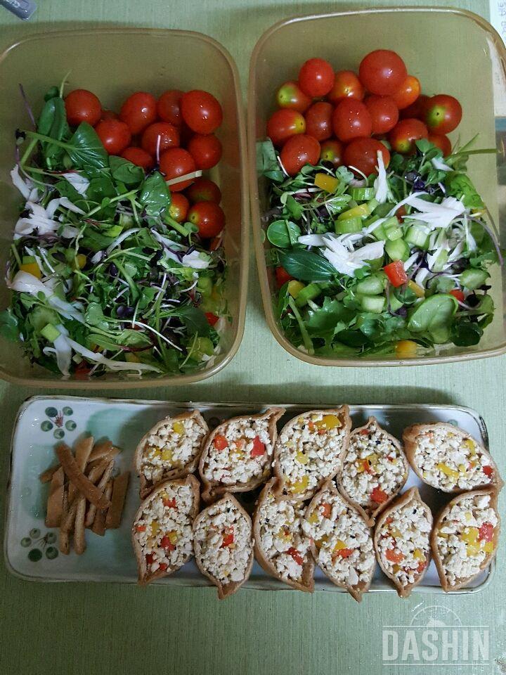크래미샐러드&두부유부초밥