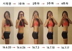 4주만에 탄탄한 몸매 만들기 - 다이어터쏘 편