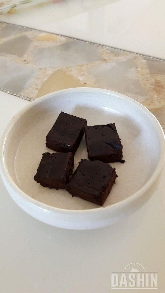 홈메이드 다크 초콜릿