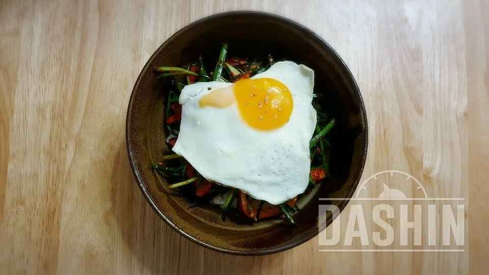 [더라이트 ]청경채 겉절이 비빔밥