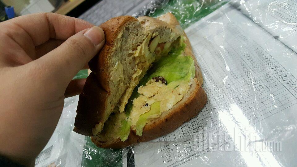 닭가슴살 샌드위치!