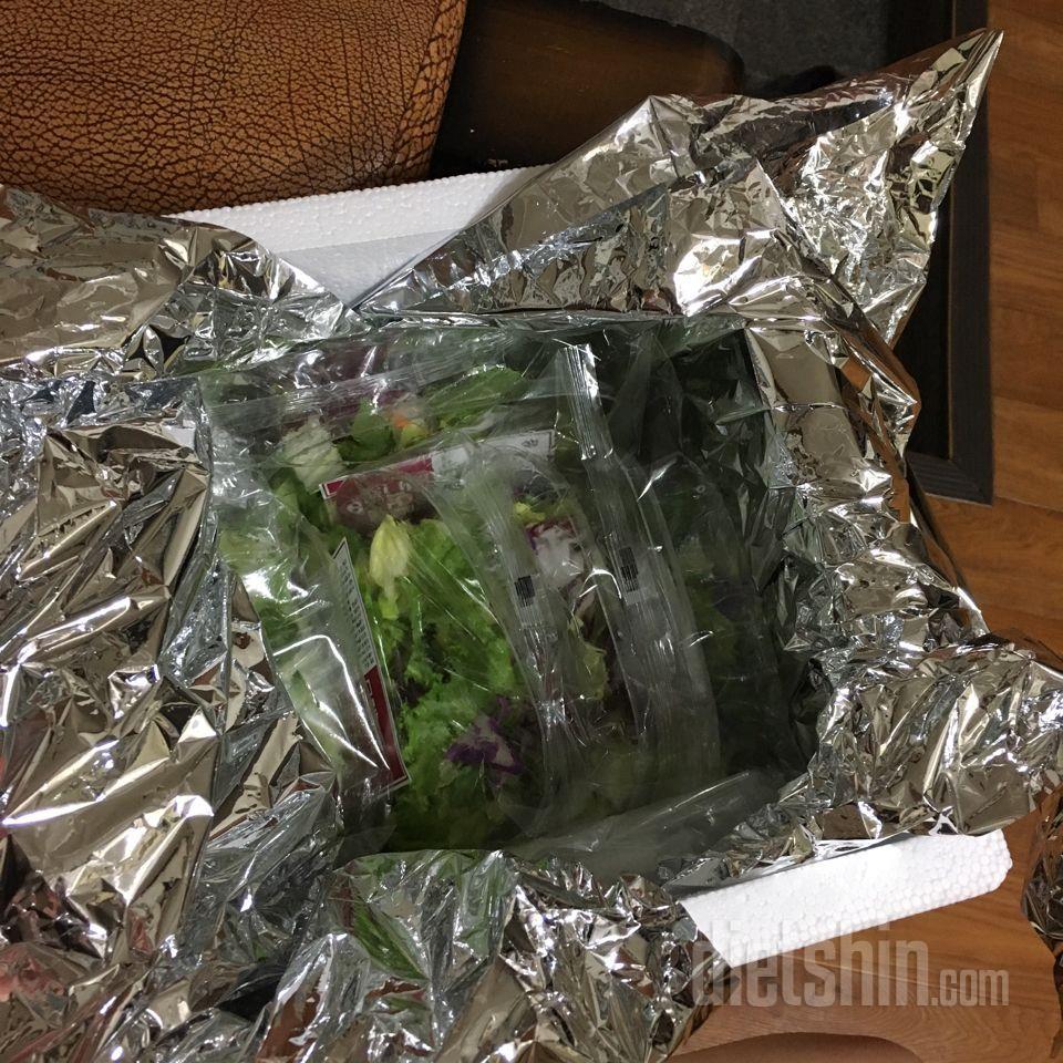 처음 주문해본 다신샵 하루한끼 샐러드