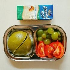 12/7 식단(점심 일반식, 저녁 녹차호빵. 총 1000칼로리)
