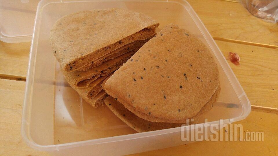 100%통밀 피타브레드(주머니빵) 만들기