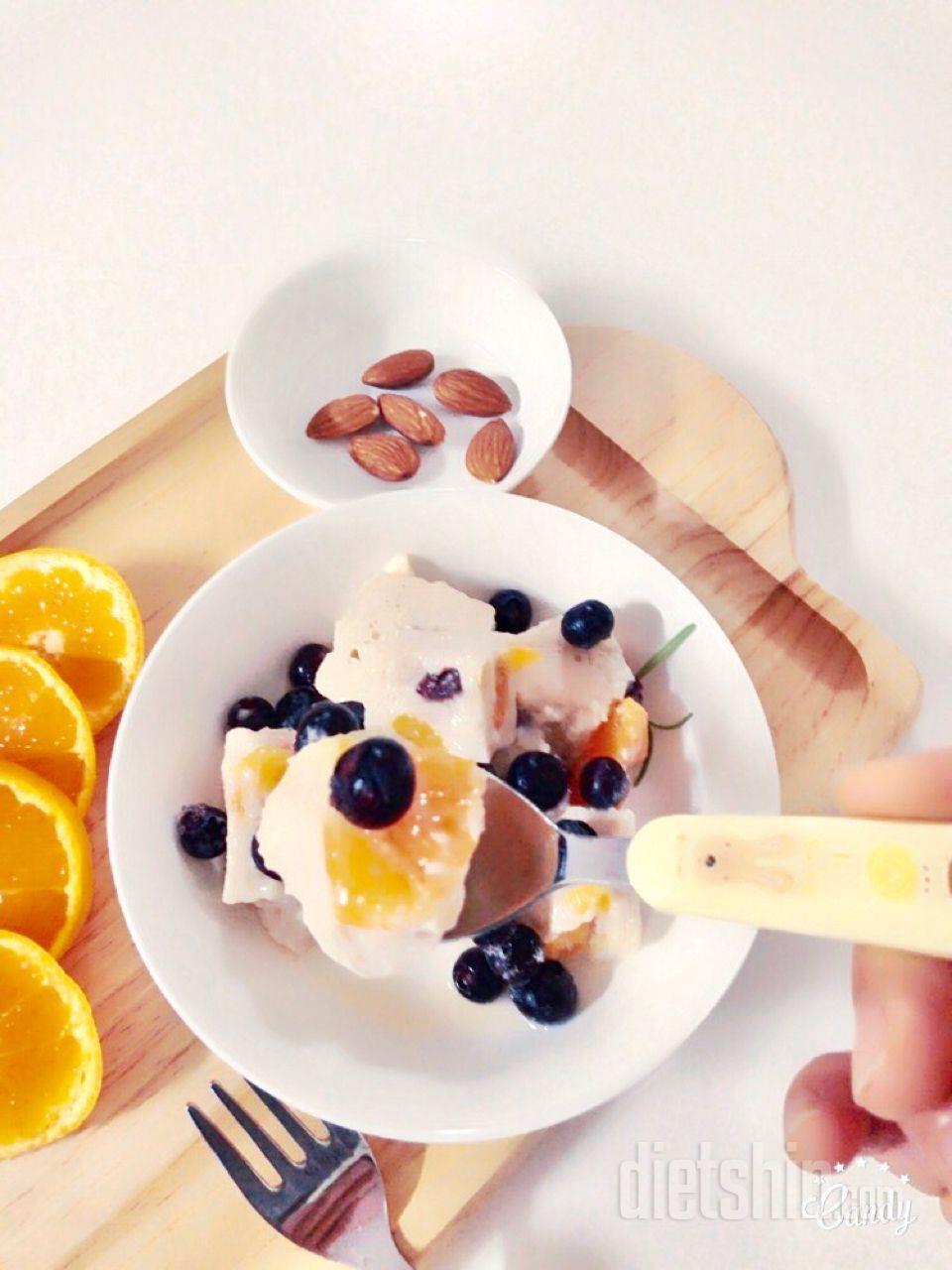 두유레시피-과일푸딩