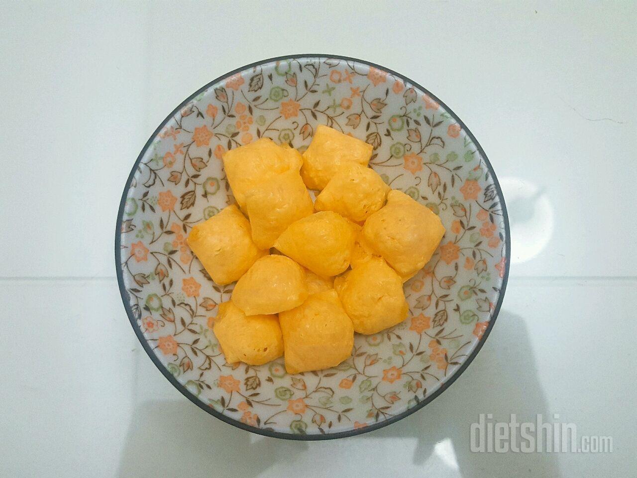 다이어트 간식 치즈과자