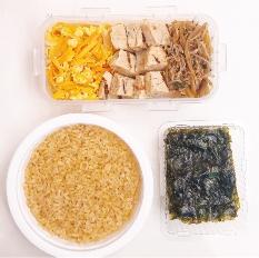 현미밥,식단