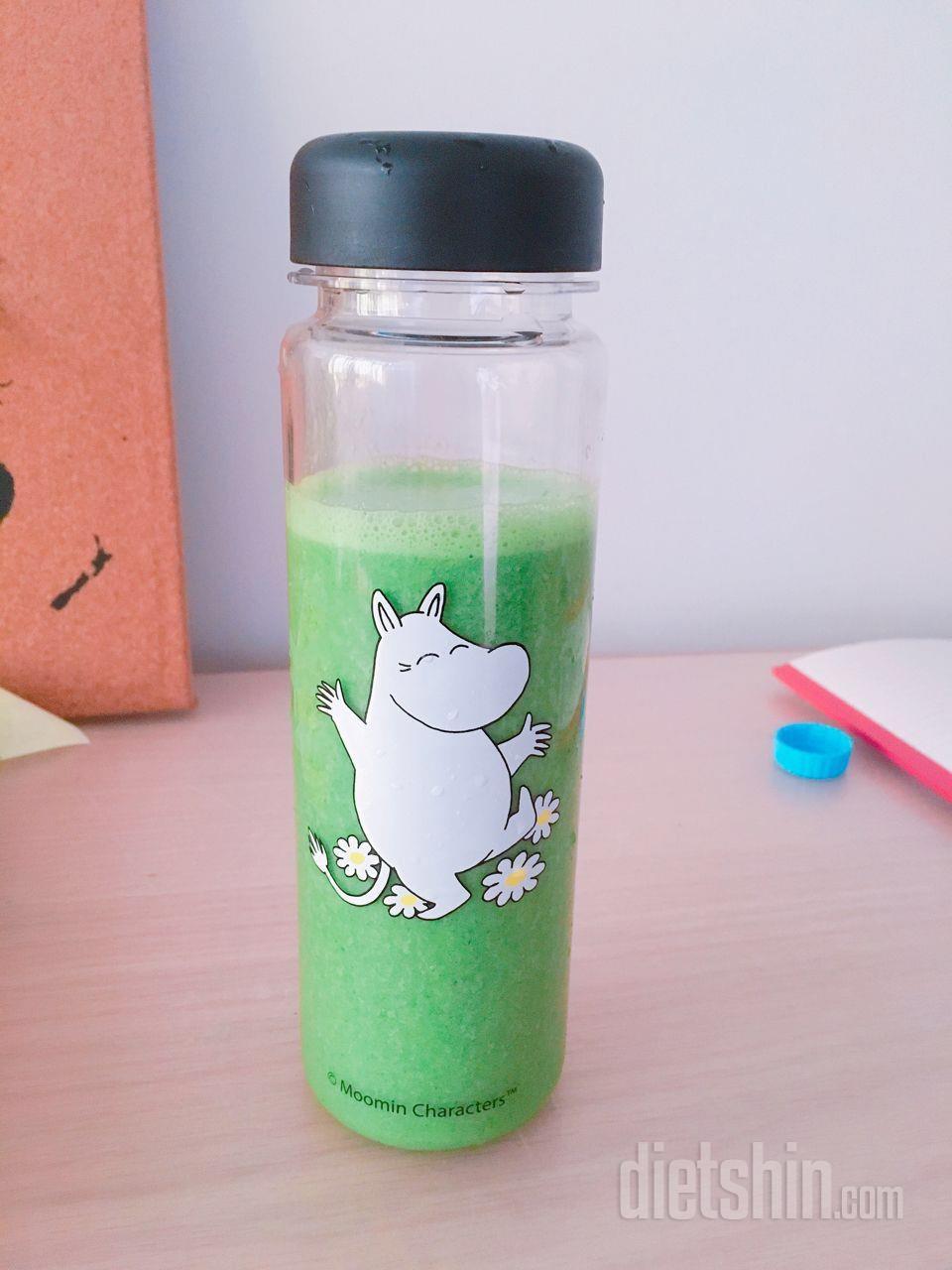 칼로리 낮고 맛있는 녹색채소 스무디!!!