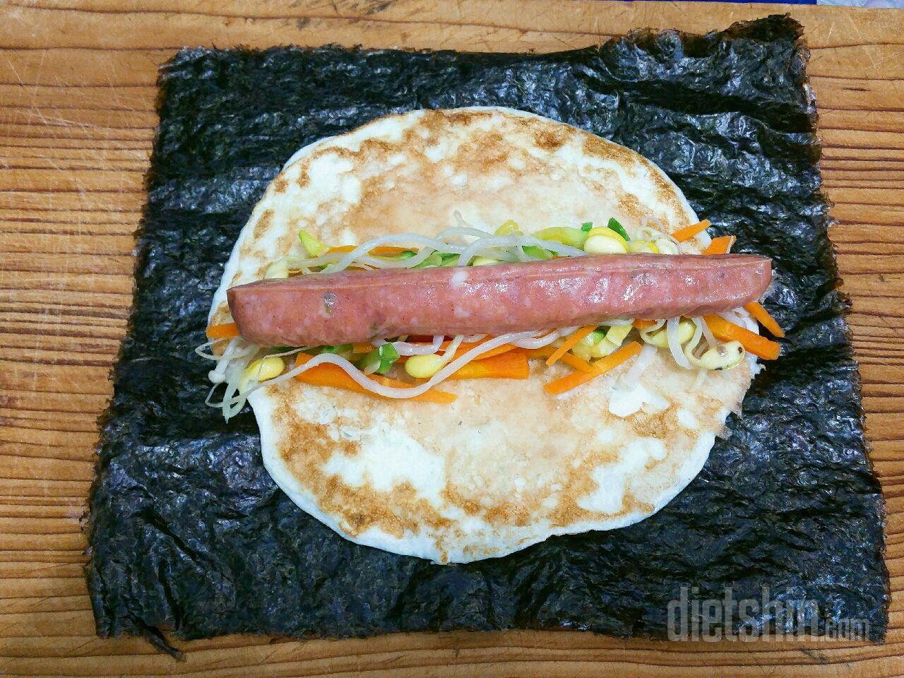 다이어트김밥(150칼로리)