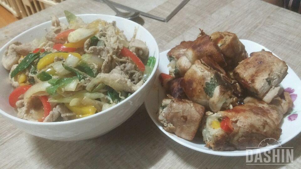 맛도있고 3대영양소와 야채를 먹을수잇는 레시피!!!