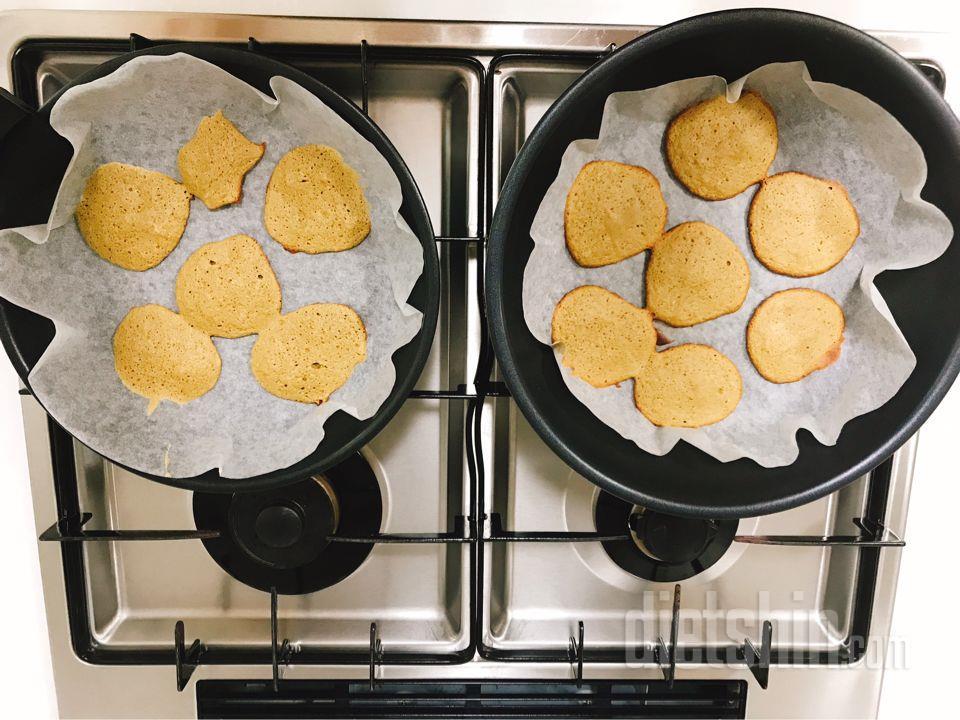 단백질 가득 쿠키 만들기!