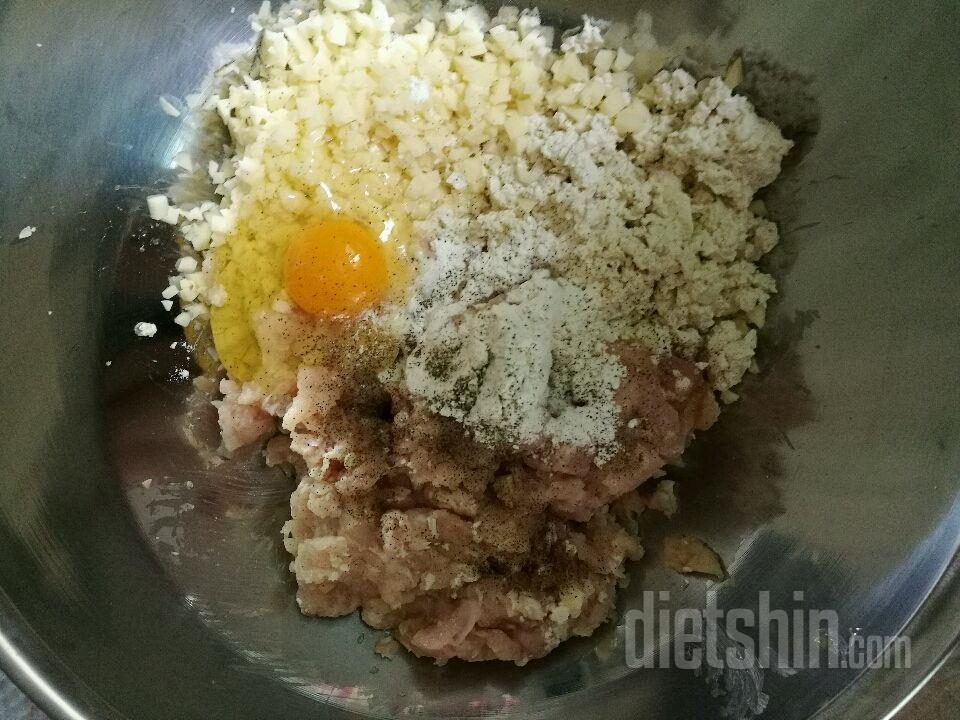 두부닭가슴살스테이크!