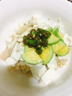 건강한 두부밥입니답