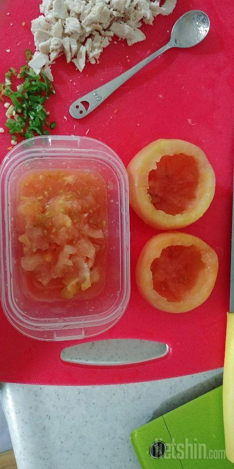 닭가슴살 토마토 야채볶음