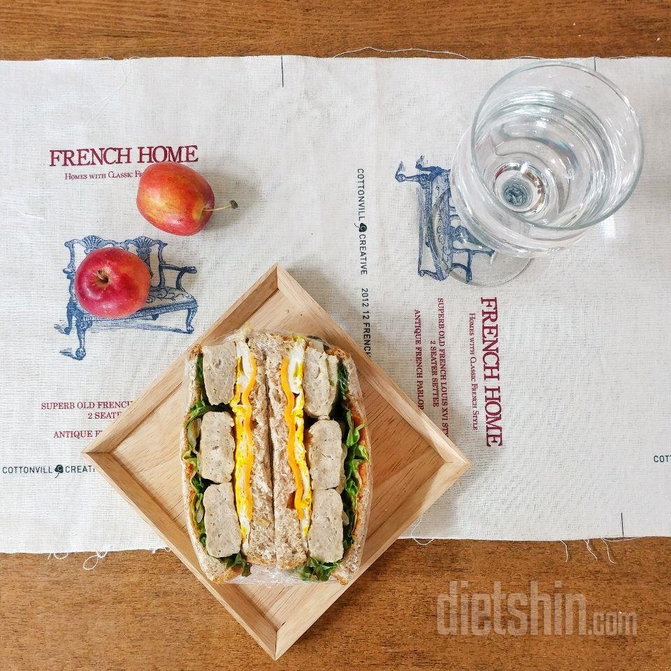 [공모전] 통밀 닭가슴살 샌드위치