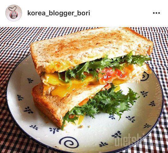 건강하게 다이어트! 든든한 샌드위치!