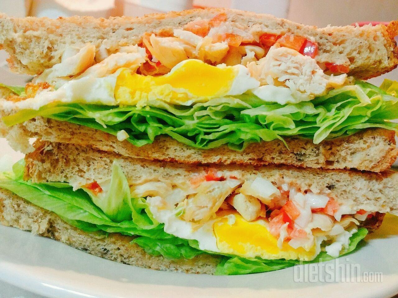 [공모전2] ※닭가슴살 샌드위치※