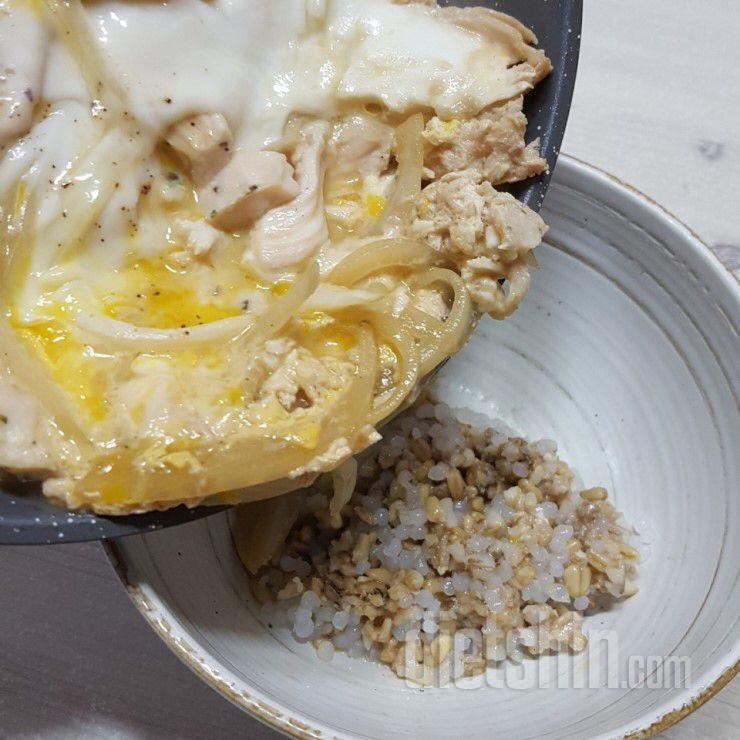 [공모전1] 오야꼬동::닭가슴살로 만드는 영양만점, 단백질만땅 닭고기덮밥 만들기