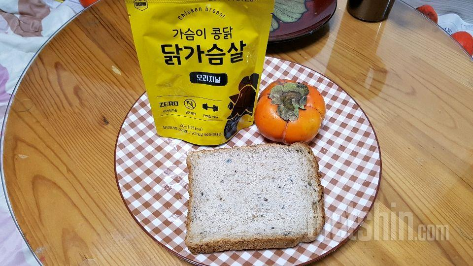 [공모전] 10분 닭가슴살 단감 토스트