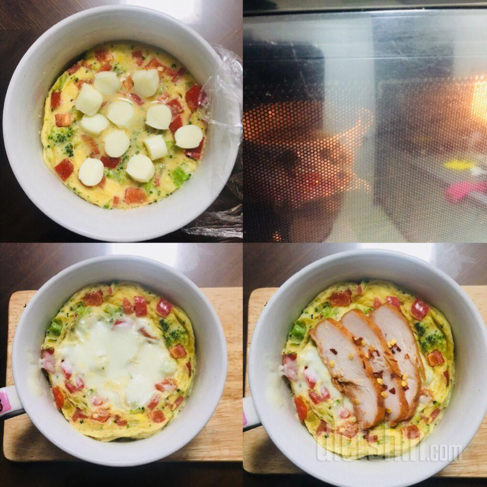(공모전1) 닭가슴살과 계란의 콜라보, 닭계찜!!
