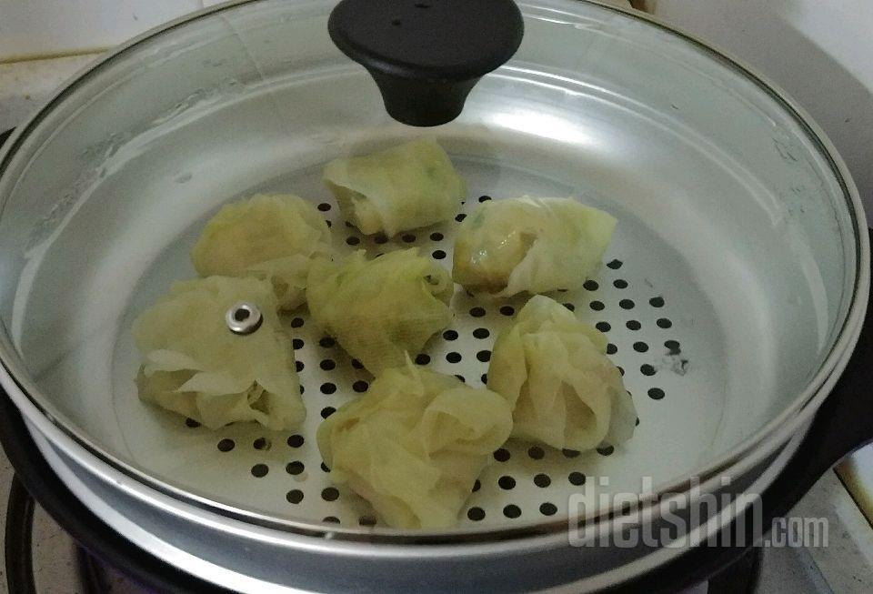 {공모전} 닭가슴살 양배추 만두 & 김말이