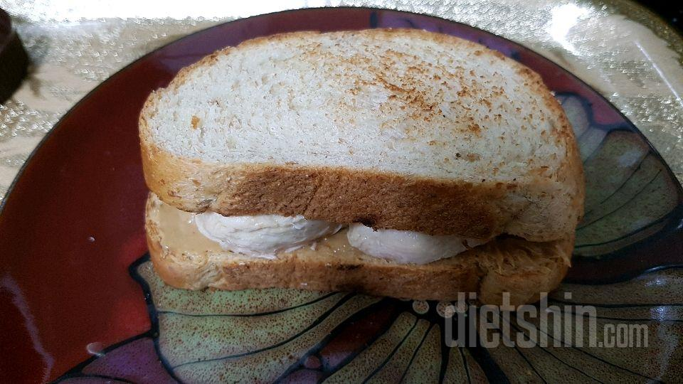 [공모전] 5분 닭가슴살땅콩버터샌드위치