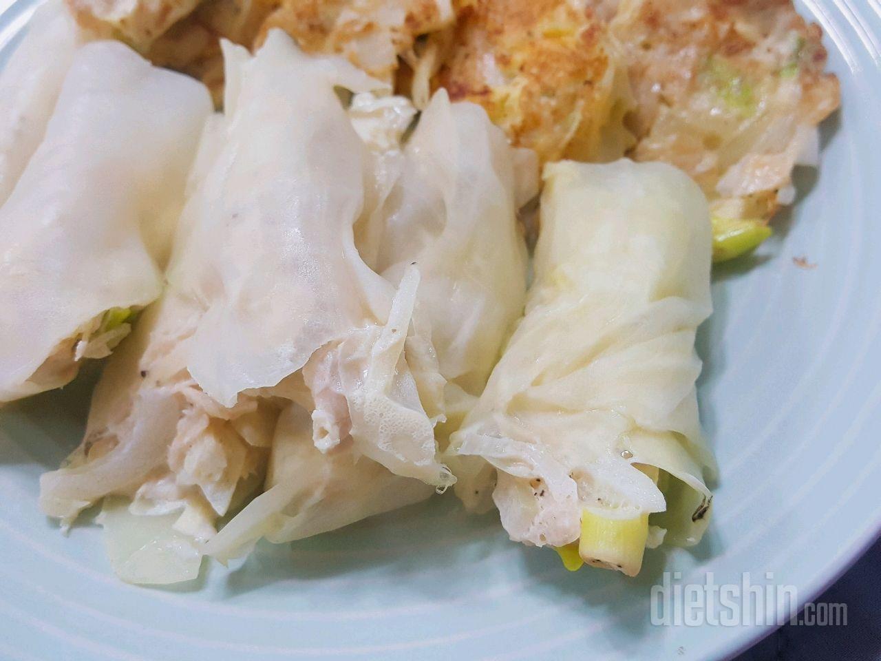 [공모전1] 닭가슴살 양배추 만두& 만두소 전