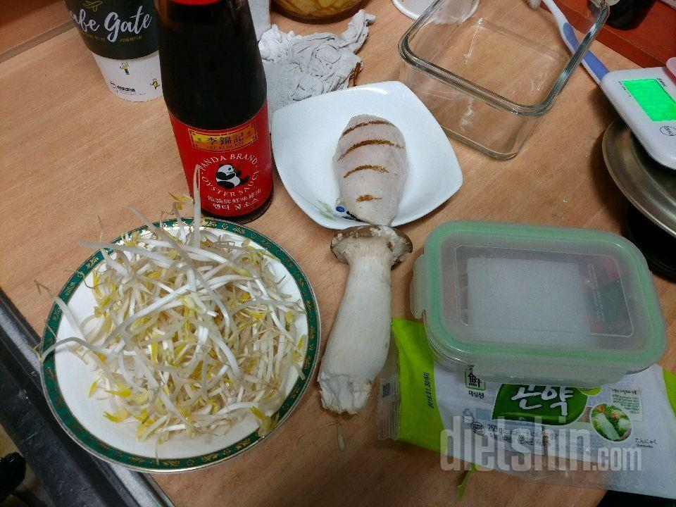 [공모전] 닭가슴살 숙주 곤약 볶음