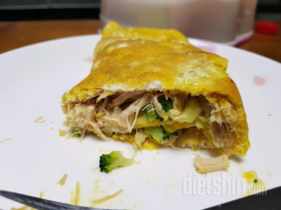 <공모전2>닭가슴살 강황 계란말이