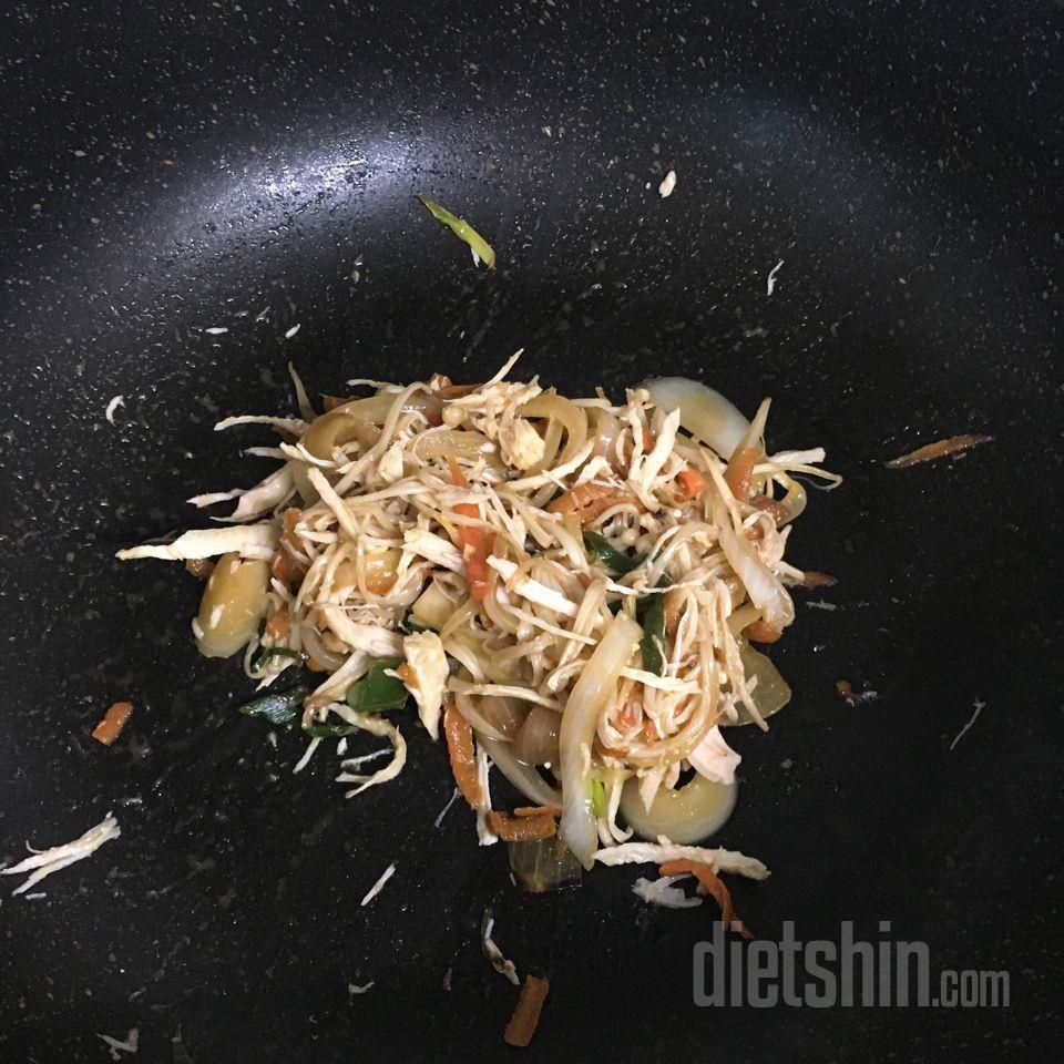 (공모전) 닭가슴살버섯잡채