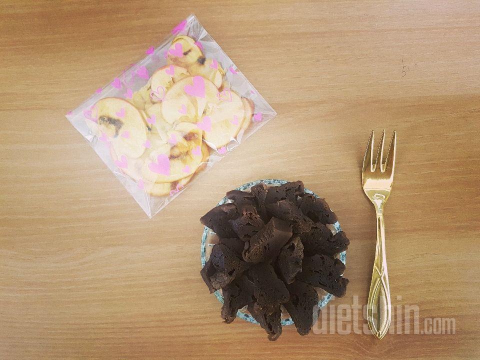 초간단 프로틴빵 & 사과칩
