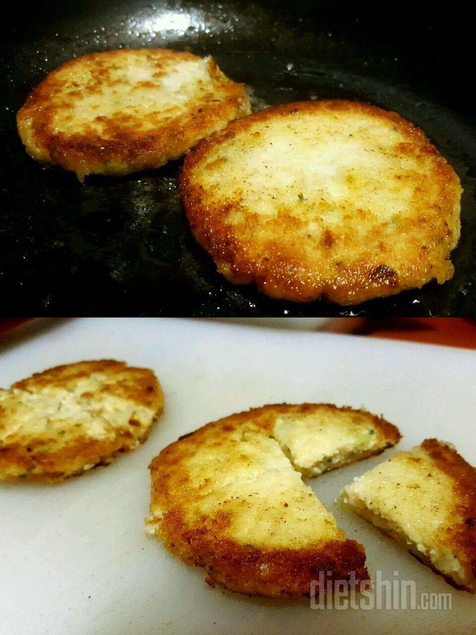 두부스테이크를 곁들인 통밀식빵 브루스케타