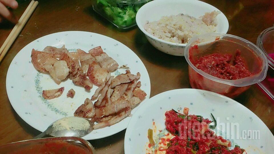 치팅데이 고기고기♡
