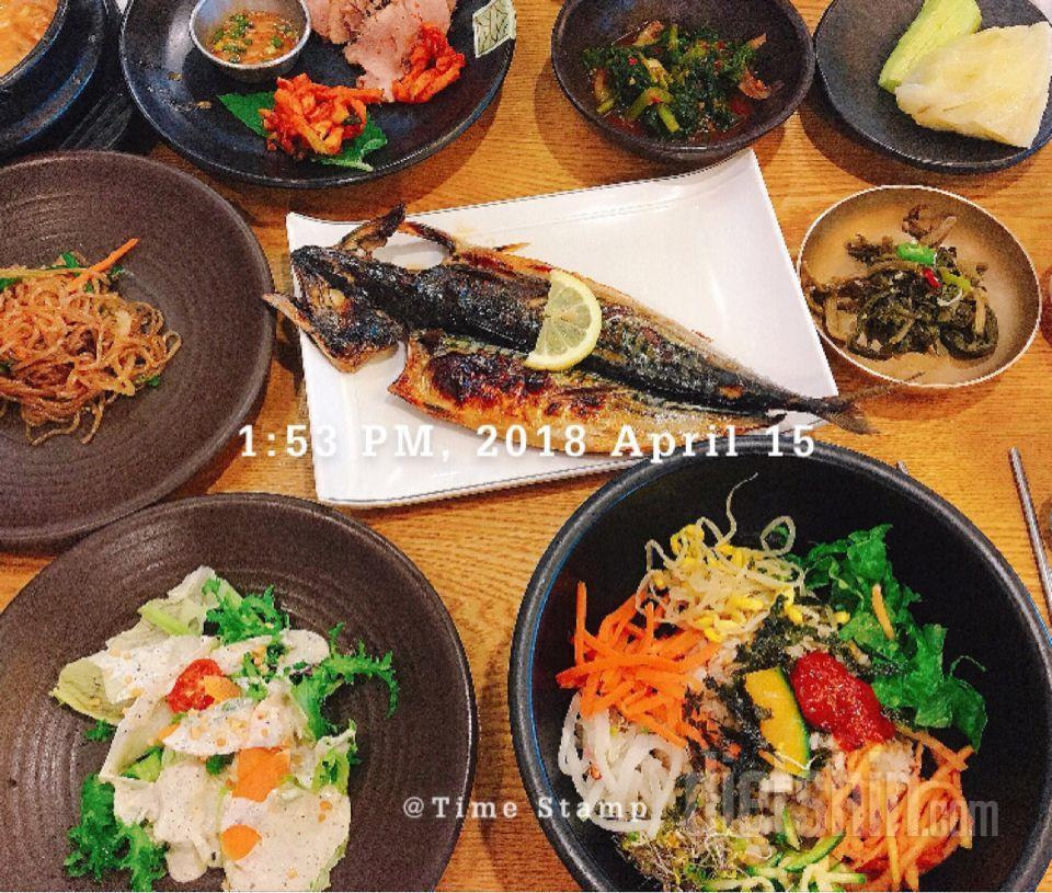4월 15일 일요일 식단(외식)