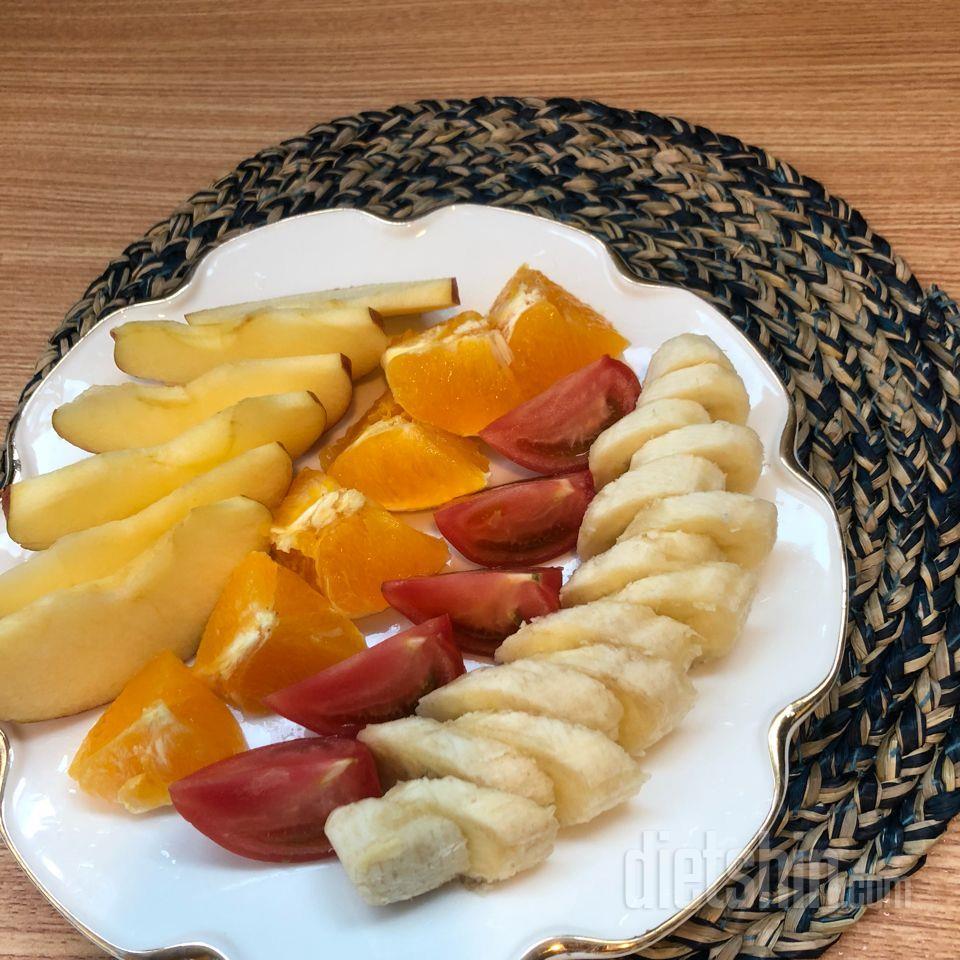 아침식단 (과일식)