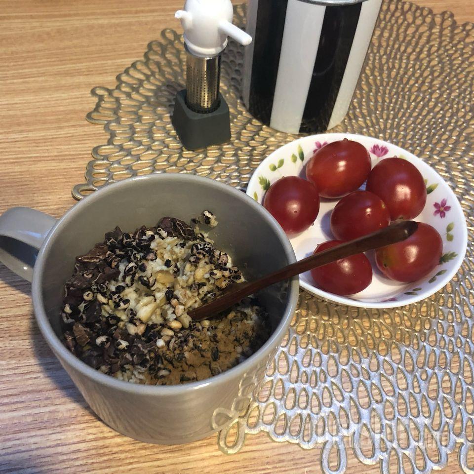 지금먹는 아침식단(오나오 조합)
