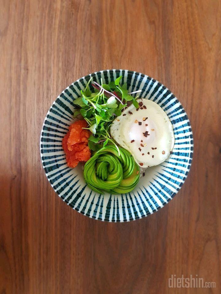 아보카도명란밥