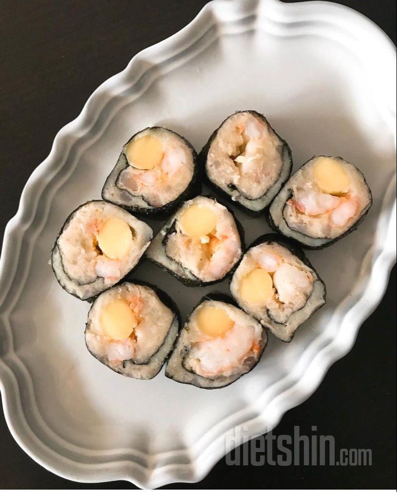 고구마 새우 김밥