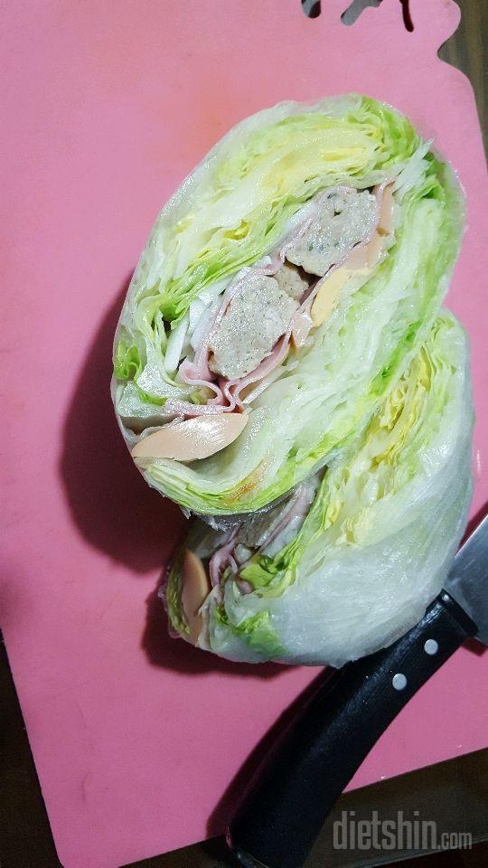 빵없이 샌드위치~