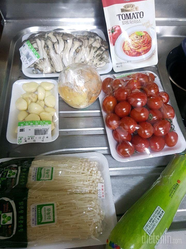 170칼로리 면없이 토마토스파게티