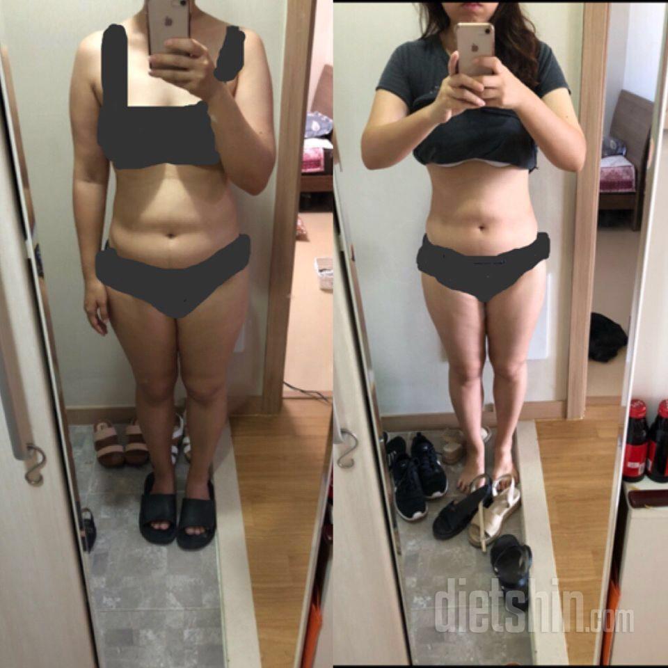 먹을 거 다먹으면서 하는 다이어트 2달후!
