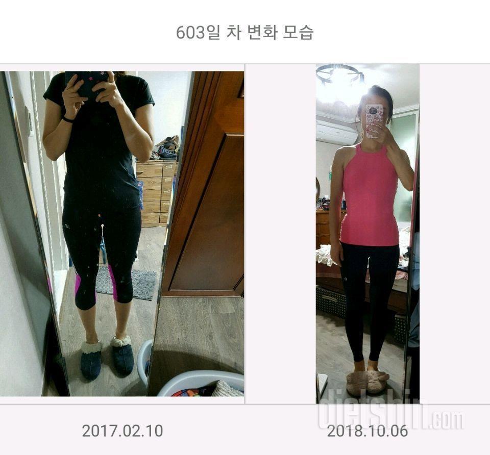 유지어터 65kg&gt\;&gt\;54.5kg 꾸준히 운동중이에요 ^^