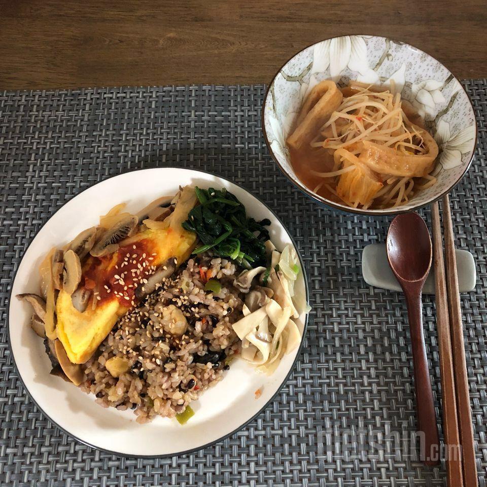탄두리닭가슴살현미밥 & 참치 오믈렛 먹어봤어요 ~ 1번째 후기