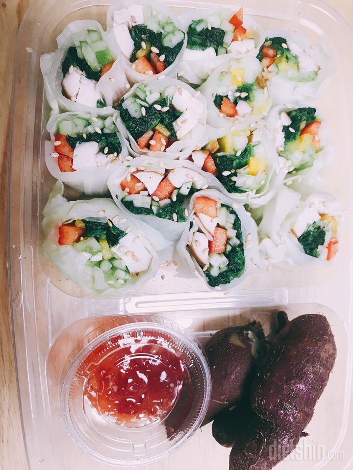 밥없는 양배추 김밥