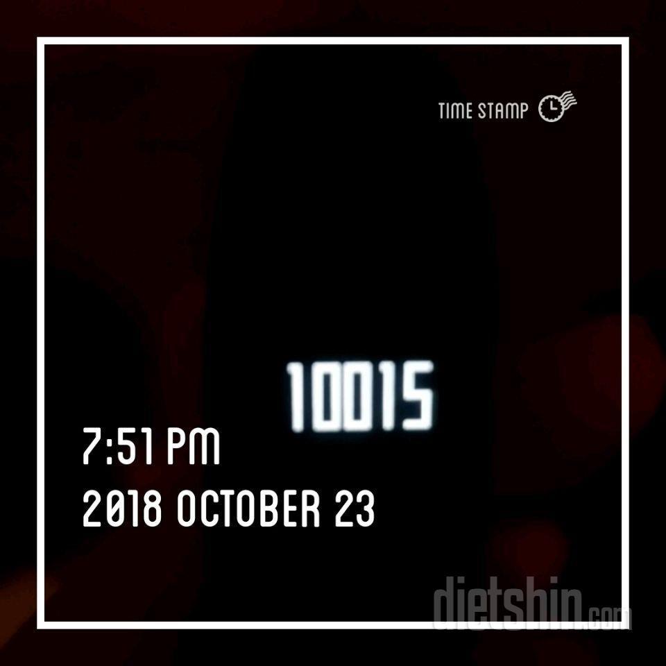 10 월 23일째